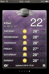 Kihei weather