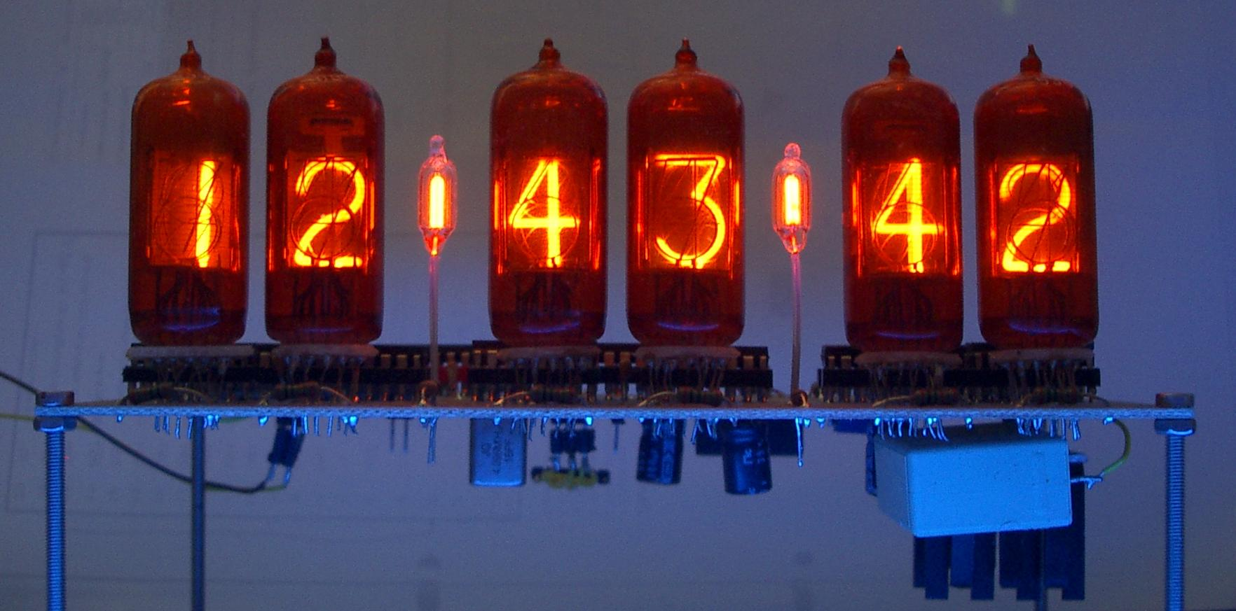 Daduke Dot Org Nixie Clock Schematic Of My 6 Digit Here Are Some Photos Themes Light Dark How To Build A
